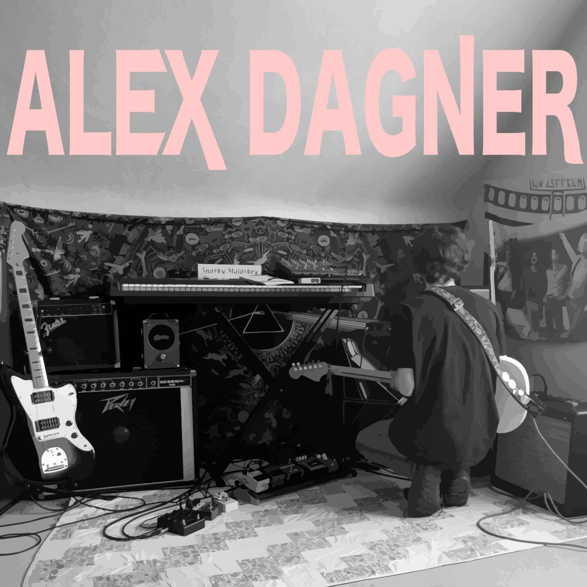 'The Usual Spot' by Alex Dagner Is Warbled, Introspective Guitar Music