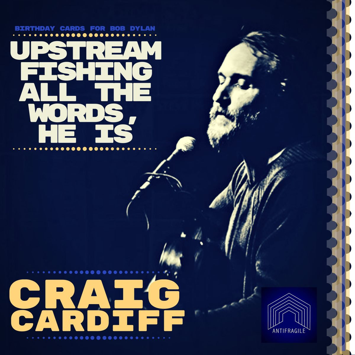 Craig Cardiff Stuns Listeners w Dylan Cover, Full EP of Bob's Songs Coming Thursday!