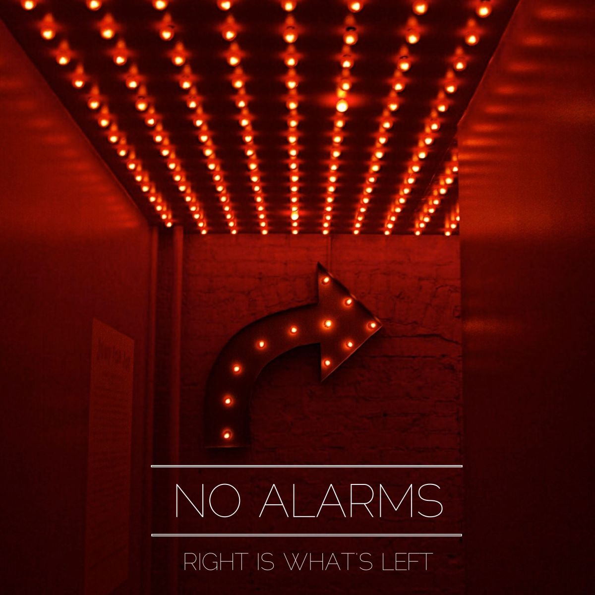 'Right Is What's Left' by No Alarms Is Glitzy Pop Rock
